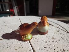 Vintage Goebel Pheasant Mallard Duck Salt & Pepper Shakers Germany