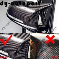 Carbon Fiber Style Side Rear View Mirror Cover Cap Fo BMW F20 F21 F22 F30 F32 X1