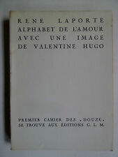 Collection Douze, Pierre Courthion, Édition G.L, René Laporte, Valentine Hugo,