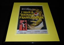 I Was a Teenage Frankenstein Framed 11x14 Poster Display Official Repro