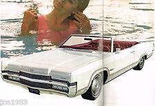 1970 Mercury MARQUIS / MARAUDER / MONTEREY Dealer Sales Brochure:X-100,BROUGHAM,