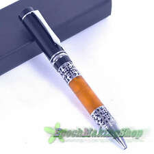 free shipping jinhao 675 CELLULOID FLOWER PATTERN Ball Point Pen NEW