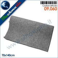 Moquette acustica liscia grigio chiaro 70x140cm per interni, subwoofer e pianali
