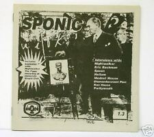 "GUIDED BY VOICES (NIGHTWALKER) - SPONIC vol. 1.3 - ZINE AND 7"" EP"