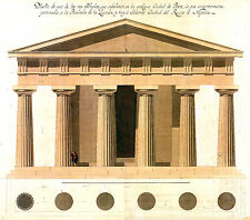 ANTIQUE ARCHITECTURAL DRAWINGS - Large / High Res / Restored Print Making Images