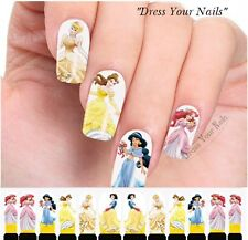 Water Decals - Princess Nail Wrap Sticker Transfer Disney Nail Stickers C4-010