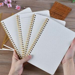 Weekly Book Planner A5 Bullet Notebook Kraft Dot Management Grid Time Journal
