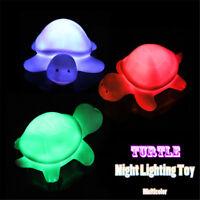Multicolor Night Lighting Toy Cute Flashing Turtle LED Lamp Christmas Decor Gift