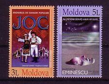 Moldawien Michelnummer 463 - 464 postfrisch (Plakatkunst : 2574 )