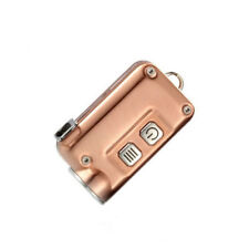 NITECORE TINI Mini Metallic Micro Rechargeable Keychain Light -380Lm (Copper)