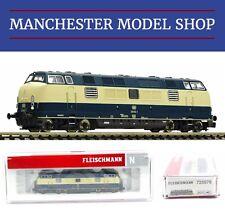 """Fleischmann 725078 N 1:160 Diesel locomotive 221 DB IV """"DCC SOUND"""" NEW BOXED"""