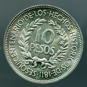 Uruguay - 10 Pesos - 1961 / #0480