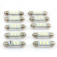 10pcs CARCHET Dome 6 SMD LED Interior Bulb Lamp DC12V 39m