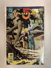 Babylon 5 On Alien Soil Dc Comics Jul 95 #6 Dehass Ridgeway