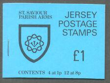 Jersey-St.Saviour £1.00 Parish Crest booklet mnh