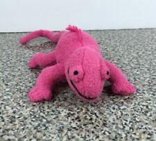 Telus Critters Pink Lizard Chameleon Gecko Rare HTF Plush Stuffed Animal Gund