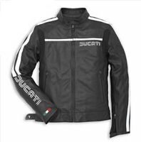 Men's Ducati Corse Motorbike Motorcycle Leather Jacket New Model All Sizes here