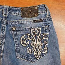 Miss Me JP536083 Boot Jeans Women's Size 30X32 bootcut saints Pockets
