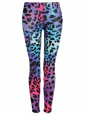 Women's ladies animal leopard print leggings trousers size 8-26 SALE!!