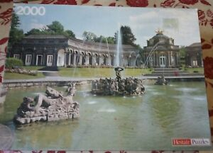Hestair Fountains Neues Schloss Bayreuth Jigsaw Puzzle 2000 pc COMPLETE Germany