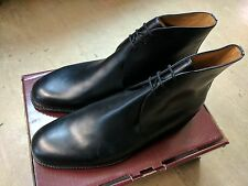 *NEW*Original British Army Issue Black Leather Officers George Boots Size 13L UK