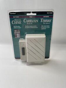 New! Carlon Wireless Chime 8 Sound Doorbell RC3190