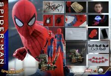 Hot Toys 1/4 Spiderman Homecoming Deluxe Set