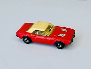 Red Matchbox Superfast #1 Dodge Challenger Made In England By Lesney