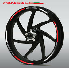 Ducati Panigale 1199 wheel decals stickers rim stripes Laminated 1299 899 Red