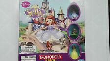 Disney Sofia Le Premier Monopoly Junior Board Game ~ Hasbro ~ 5+ New & Sealed