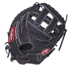 "Rawlings Catchers Mitt Glove Heart of Hide 33"" Fastpitch Softball RHT PROCM33FPB"