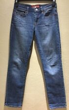 Lucky Brand Women's Jeans Size 2/26 Ankle Style Sofia Straight Dark Wash