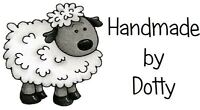 Personalised Mini Stickers labels x 65 - Handmade by - Cute woolly sheep