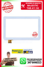 TAB-411 3G TAB 411 VETRO E TOUCH SCREEN BIANCO MAJESTIC