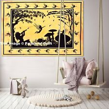 Fairy Land Poster Cotton Indian Yoga Mat Throw Wall Hanging Table Cover Tapestry