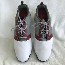 WOW! Barely Used FOOTJOY CONTOUR FIT Soft Spike Golf Shoes Size US Mens 13 M