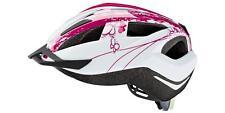 Fahrrad Kinder Helm mit Rücklicht Pink Einheitsgröße