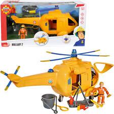 Simba Feuerwehrmann Sam Hubschrauber Wallaby II mit Figur