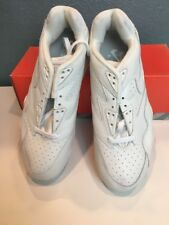 NIKE AIR CROSS TRAINERS LOW IV 90's MENS 10.5 WHITE LEATHER AUTHENTIC VTG