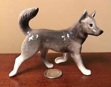Hagen-Renaker Mini #3335 Sled Dog - Miniature Ceramic Alaskan Malamute or Husky