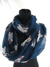 US Seller- cute cat animal pet infinity scarf Christmas gift neck  scarf