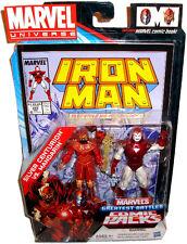 Marvel Universe Comic Book Packs Silver Centurion Vs Mandarin Action Figures MIB