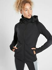 NWT Athleta Inlet Jacket DOWN INSULATION, Black SIZE M             #486238 T1022