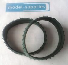 Moko Caterpiller large issue reproduction pair of green rubber tracks
