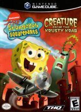 Spongebob Squarepants Creature From Krusty Krab Gamecube Game