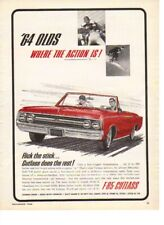 1964 Oldsmobile F-85 Cutlass - Vintage Car Ad