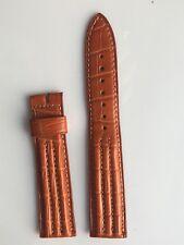 Crocodile Orange Breguet Marine Strap 19mm X 16 mm