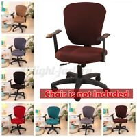 AUGIENB Swivel Computer Chair Cover Stretch Office Protector Stretchable