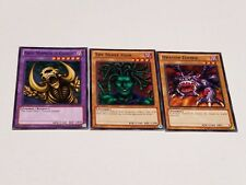 Yugioh Great Mammoth of Goldfine Fusion Set The Snake Hair Dragon Zombie + Bonus