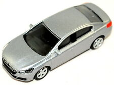 "Peugeot 508 Model Car 3"" New Genuine Silver Grey E13MITR908"